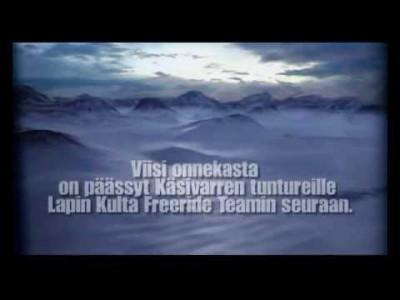 Tässä jaksossa herätään Pitsusjärven autiotuvalta ja aloitetaan päivä helihiihdon merkeissä. Govddosgaisi. Saana. Terbmisvarri. Henkilökuva: Skipe Oivo.