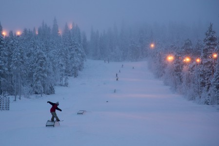 Iso-Syötteen Lumimaa laajentui kaudelle 2015/2016 uudella hissillä ja rinteellä. Uuden hissin alueelta löytyy myös perheen pienempiä innostava Seikkailumetsä.