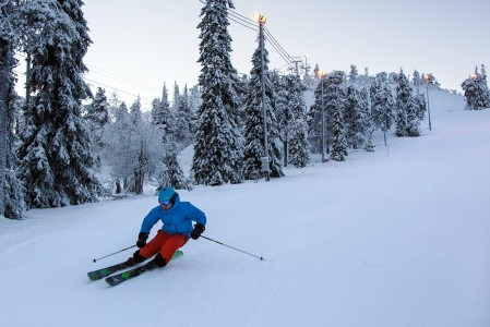 Hissilippumyynnilä mitattuna Ruka on Suomen toiseksi suurin hiihtokeskus.