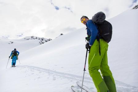 St-Lucin maastossa on hiihtovaelluksille ja päiväskinnauksille sopivia reittejä.