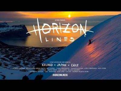 Horizon lines -avausepisodissa tutkaillaan Islannin laskumahdollisuuksia venettä hyödyntäen.