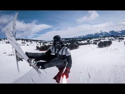 What's Your Force? kysyy suksille siirretty Star Wars -parodia