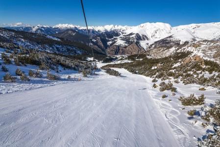 Grandvaliran pienin hiihtoalue El Forn käsittää vain muutaman rinteen ja muita alueita pienemmän korkeuseron. Kaksi koko Grandvaliran parhaimpiin kuuluvaa rinnettä viettää kohti El Fornia aivan rinnekartan oikeassa reunassa.