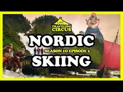 Näille suksijoille Nordic Skiing ei tarkoita perinteistä tyyilä, vaan kikkailuvetoista kesähiihtoa Norjan Fonnan hiihtokeskuksessa.