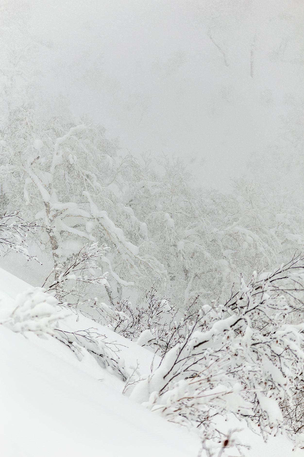 Kiroron offarimaasto on muodoiltaan erinomaista ja lumenlaadultaan useimmiten loistavaa. Ainakin, kun poistuu hikoilutta saavutettavissa olevilta alueilta.