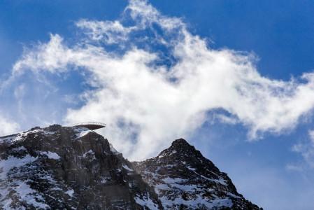 Stubain jäätikön katolla on maailman 10 hienoimman joukkoon listattu Top of Tyrol -maisematasanne (3210 m)