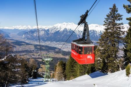 Patscherkofel on suppeammasta päästä Innsbruckin hiihtoalueita, mutta yksi tunnelmallisimmista ja rinteiltään mukavimmista.