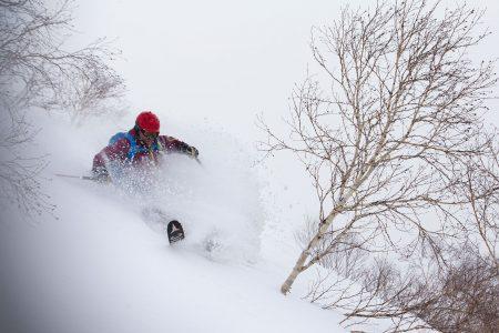 Nisekon ylemmät osat ovat pientä, harvaa puuta ja risua. Tuulisena päivänä puhuri osuu yläosiin ja vie pehmeät lumen sen perässä ravaavia laskijoita nopeammin.
