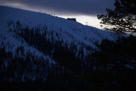Väggen on 45-asteisena Ruotsin toiseksi jyrkin rinne. Tämä haaste sijaitsee Hundfjälletin alueella Sälenin hiihtokeskuksessa.