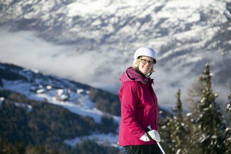 Paradiskin alueella on 425 kilometriä rinteitä. Maailman toiseksi suurimmalla yhteenlinkitetyllä hiihtoalueella riittää valinnanvaraa lähes loputtomasti.