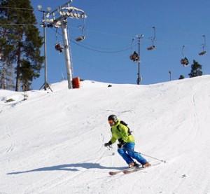 Alhovuori - hiihtokeskus - Kuva: Anna Vunneli
