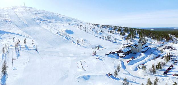 Ylläs - hiihtokeskus, Kuva: Flycam Oy
