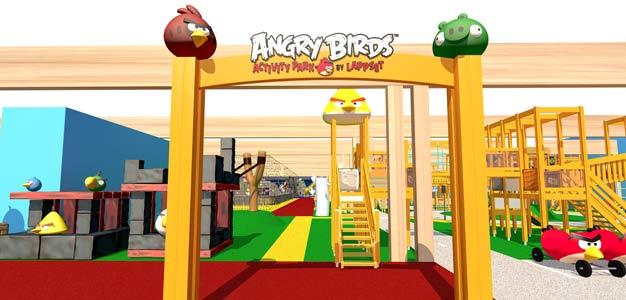 Vuokatin Angry Birds -puisto