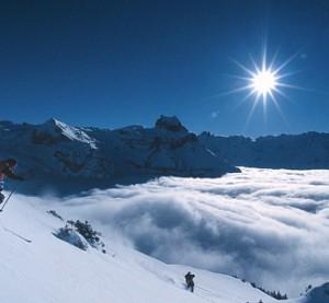 Engelberg - hiihtokeskus