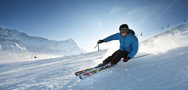 Wengen ja Grindelwald - hiihtokeskus