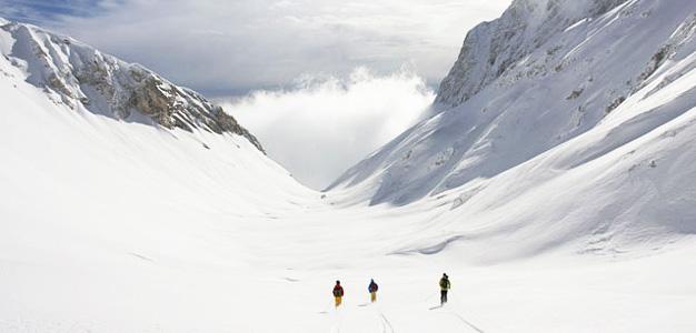 Kanin ja Sella Nevea - hiihtokeskus
