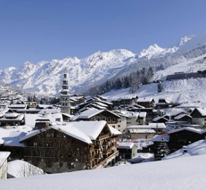 La Clusaz - hiihtokeskus
