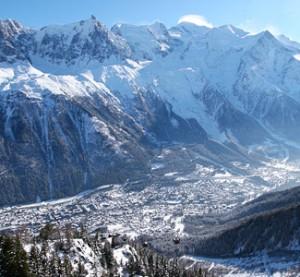 Chamonix - hiihtokeskus