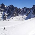 chamonix skitouring