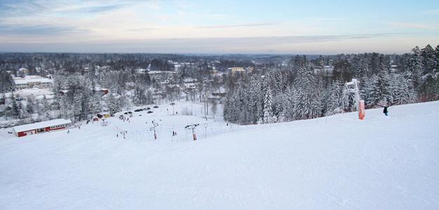 Kauniaisten hiihtokeskus – Suomen ensimmäinen laskettelurinne