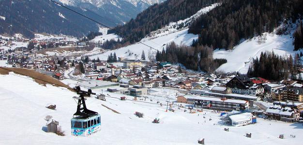 St. Anton - hiihtokeskus Kuva: Simo Vunneli