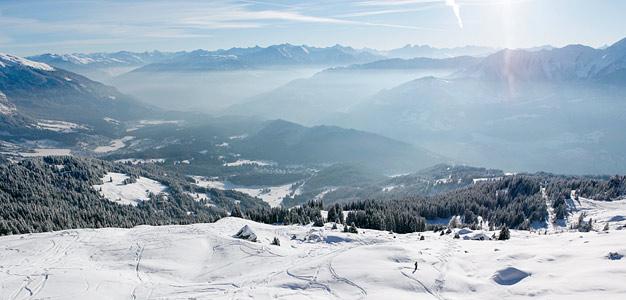 Laax – Euroopan modernein hiihtokeskus