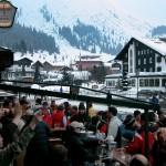 Lech after-ski