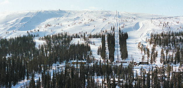 Luosto - hiihtokeskus. Kuva: Lapland Hotels