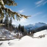 Mayrhofen maisema off-piste
