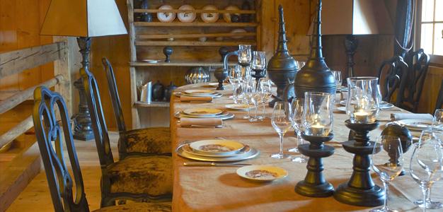 Hotellin ravintola, Les Fermes de Marie