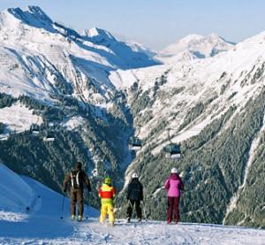 Montafon - hiihtokeskus