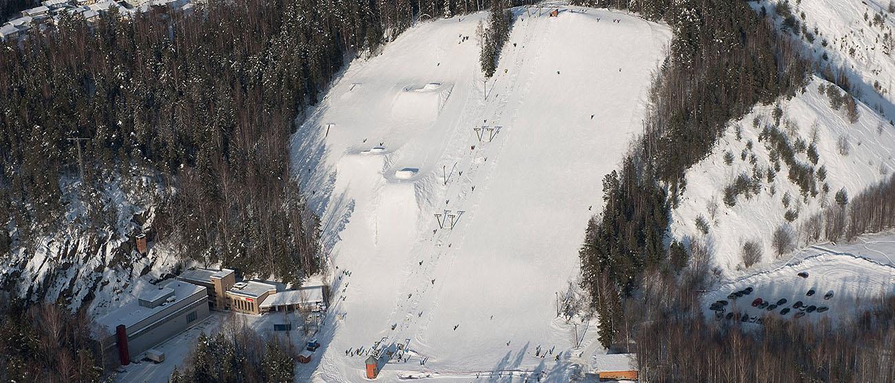 Hervanta ja Mustavuori - hiihtokeskus