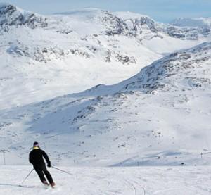 Riksgränsen - hiihtokeskus