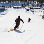 saariselkä telemark skiing