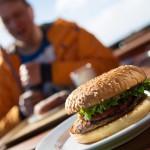 saariselkä ravintola kaunispään huippu hampurilainen terassi