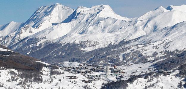 Via Lattea ja Sestriere - hiihtokeskus Kuva: Jyrki Lehto