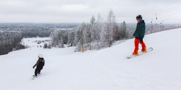 Snowpark Parra – Hyppyreitä joka lähtöön