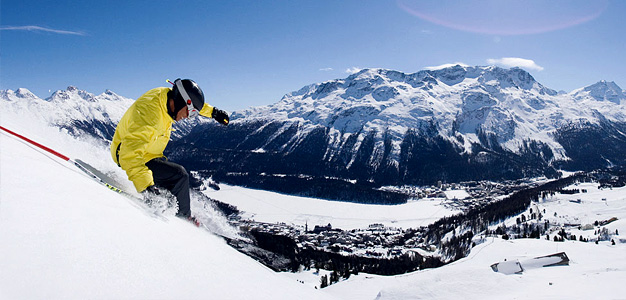 St. Moritz - hiihtokeskus