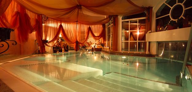 Allasosasto Romantikhotelissa