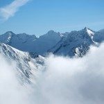 Bad Gastain pilvimaisema