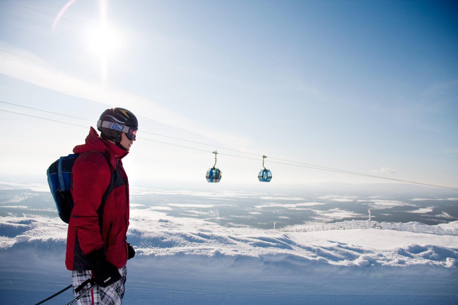 Levi-hiihtokeskus – Esittelyssä rinteet ja palvelut