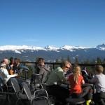Jasper Marmot Basin rinneravintola terassi