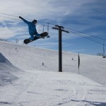 Steamboat big air snow parkki