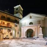 Cervinia Valtournenche kylä