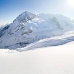 Dolomiitit Marmolada jäätikkö