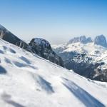 Dolomiitit Marmolada off-pisteet