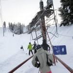 Kalpalinna Calpis hiihtokeskus hissit