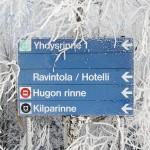Kalpalinna hiihtokeskus rinteet kyltti