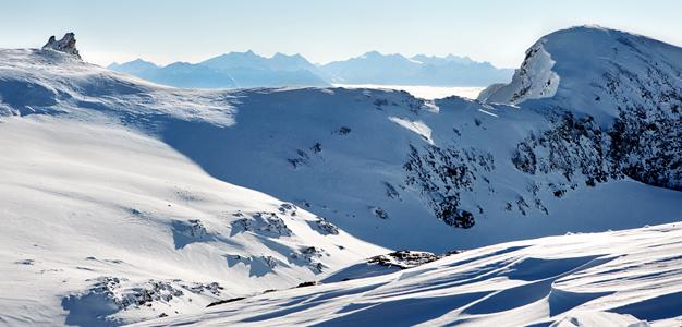 Alpeilla on nyt erityisen hyvä lumitilanne