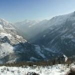 Monte Rosa Gressoney kylä ja laakso